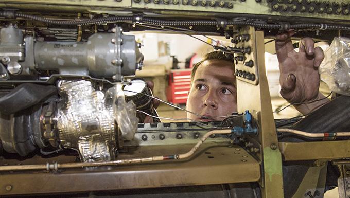 Maintenance Airman powers Misawa SEAD mission