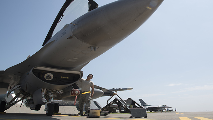 Misawa F-16s receive system upgrade to boost tactical power
