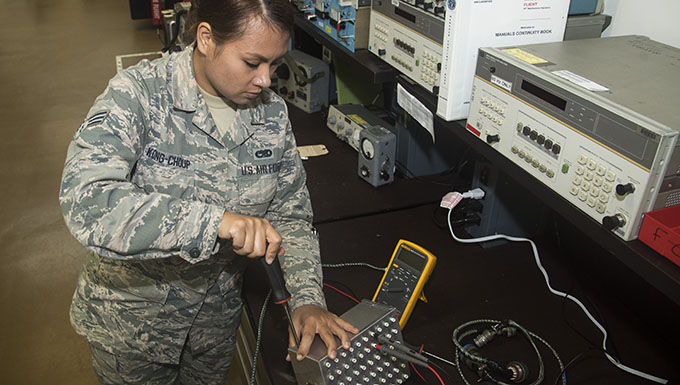 Avionics Airmen save time, money with innovative device