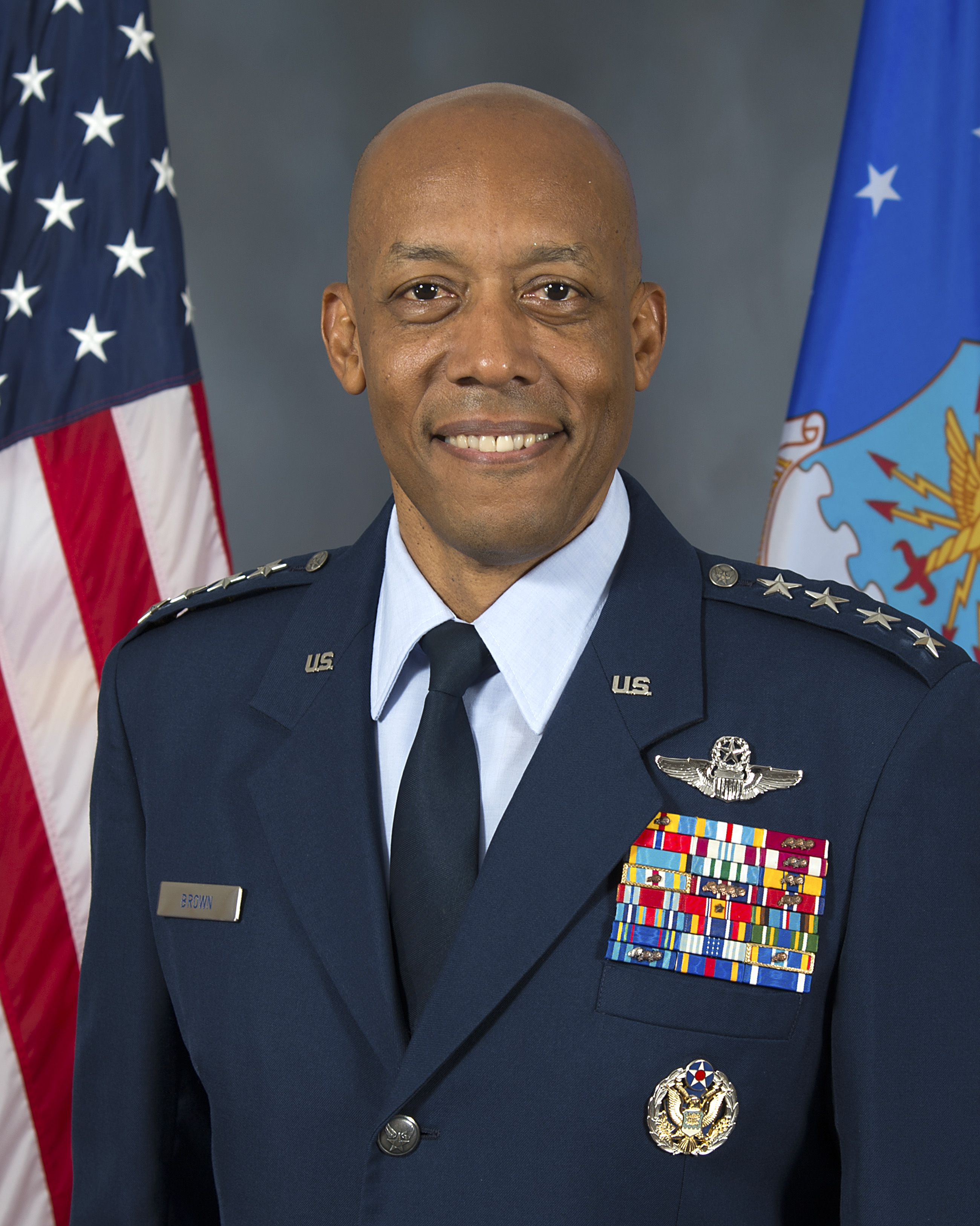 Gen. Charles Q. Brown Jr. Commander